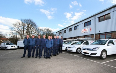 CAMS® Fire & Security PLC - Front of Building