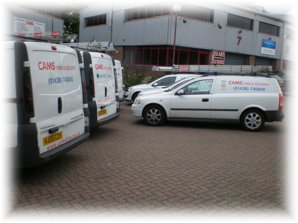 CAMS® Corsa Van, Fire Service Vehicle